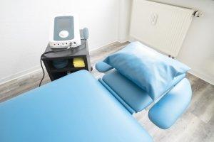 Behandlungszimmer Physiotherapie Stuttgart Nord Neonorth